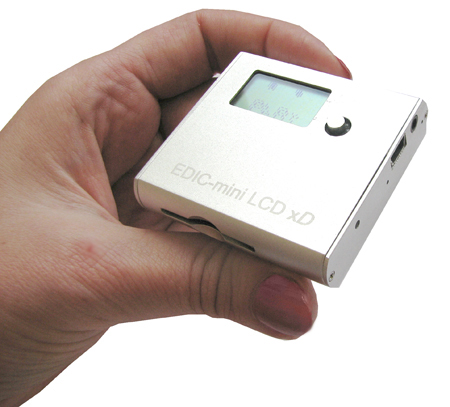 Audio recorders of Edic-mini LCD series